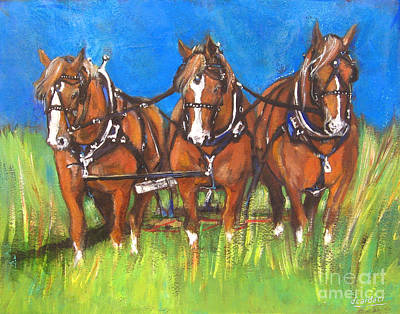 Painting - Three Is Company by Debora Cardaci