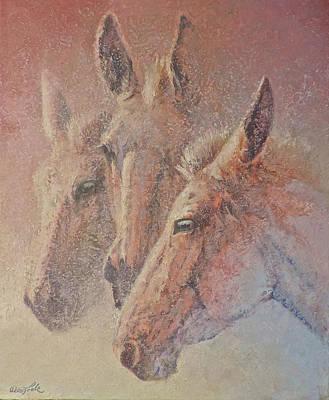 Painting - Three Jacks by Mia DeLode