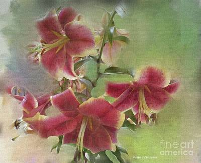 Digital Art - Soft Beauties by Kathie Chicoine