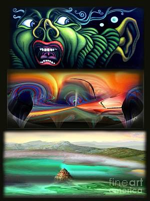 Three Kinds Of Memory Art Print by Tighe O'DonoghueRoss