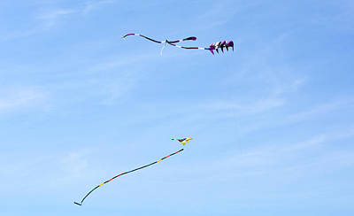 Thomas Kinkade - Three Kites by Linda Kerkau