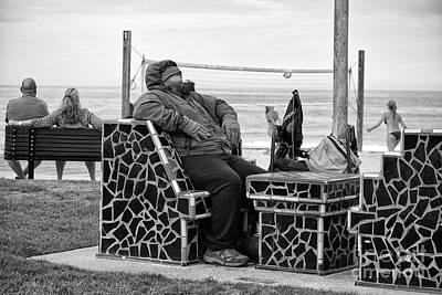 Photograph - Three Laguna Lifestyles by Vinnie Oakes