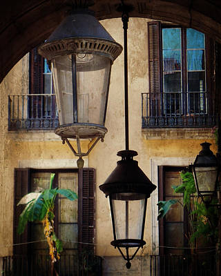 Photograph - Three Lanterns by Valerie Reeves