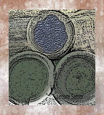 Digital Art - Three by Lenore Senior