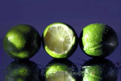 Photograph - Three Limes by Angela Murdock