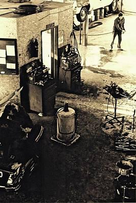 Photograph - Three Mechanics  by Brian Sereda