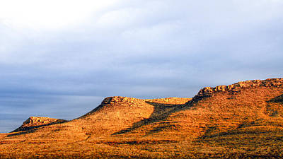 Photograph - Three Mesas by SR Green
