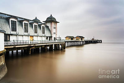 Photograph - Three Minutes At Penarth Pier by Steve Purnell
