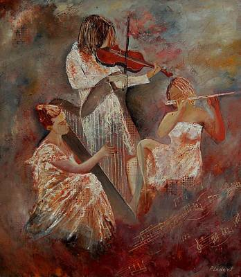Musicians Royalty Free Images - Three musicians  Royalty-Free Image by Pol Ledent