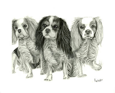 Three Musketeers Art Print