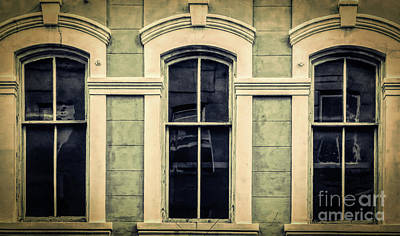 Photograph - Three Mysterious Eyes-nola by Kathleen K Parker