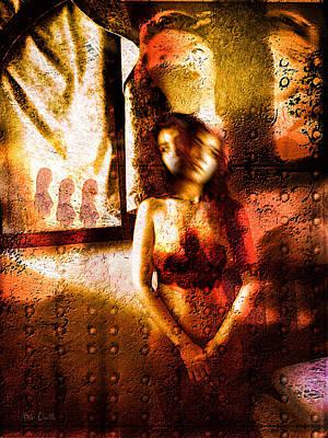 Ghost Photograph - Three Nuns by Bob Orsillo