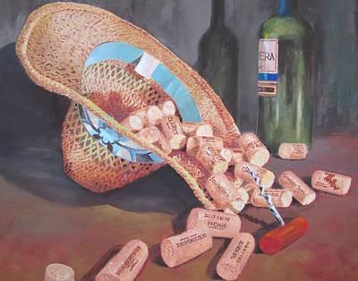 Painting - Three O'clock by Tony Caviston