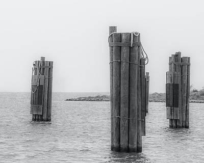 Photograph - Three Pillars by David Johnson