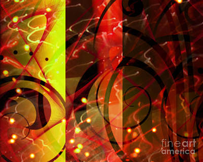 Digital Art - Three Shades by Kristi Kruse