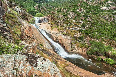 Photograph - Three Sister Waterfalls by Alexander Kunz