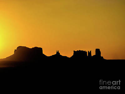 Photograph - Three Sisters Backlight by Benny Marty