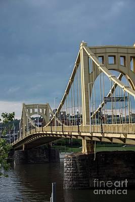 Three Sisters Bridges Art Print