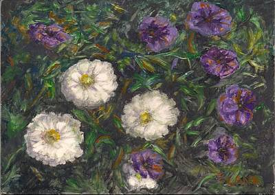 Painting - Three Sisters by Elizabeth Lane