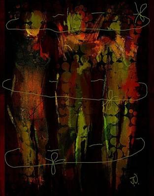 Digital Art - Three Sisters IIi by Jim Vance