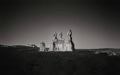 Goblin Valley Photograph - Three Sisters by Joseph Smith