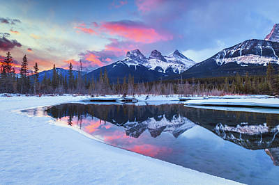 Photograph - Three Sisters by Michael Blanchette