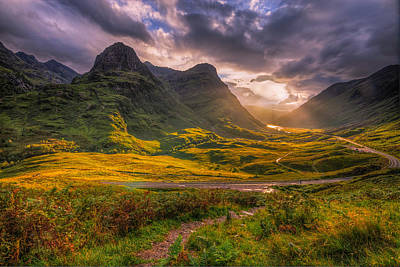 Photograph - Three Sisters Of Glencoe by Paul and Fe Photography Messenger