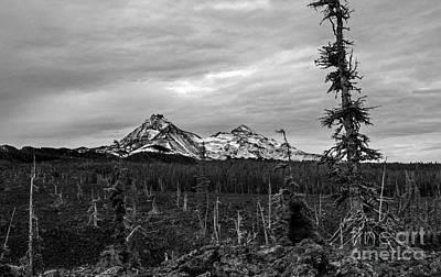 Photograph - Three Sisters Oregon by Michael Cross