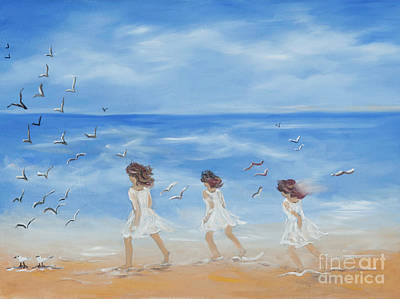 Painting - Three Sisters by Pati Pelz
