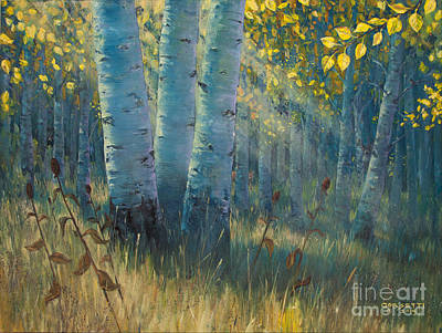 Painting - Three Sisters - Spirit Of The Forest by Rob Corsetti