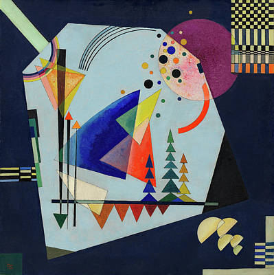 Dot Painting - Three Sounds by Wassily Kandinsky