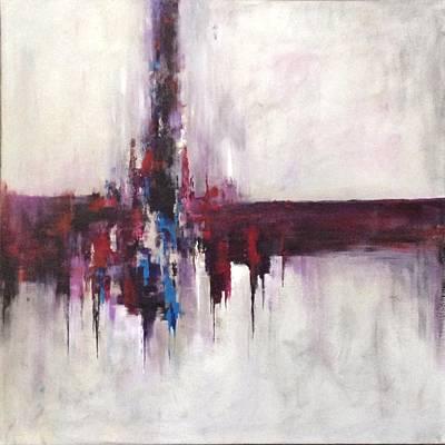 Three Square #2 Art Print by Suzzanna Frank
