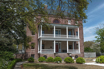 Photograph - Three Story Brick Home by Dale Powell