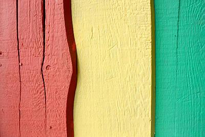 Photograph - Three Stripes by Barbara  White