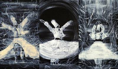 Painting - Three Sufis by Fabrizio Cassetta
