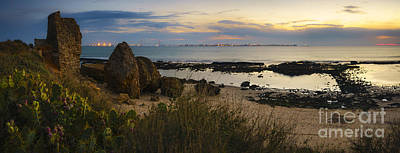 Photograph - Three Thousand Year Old City From Puerto De Santa Maria Cadiz Spain by Pablo Avanzini