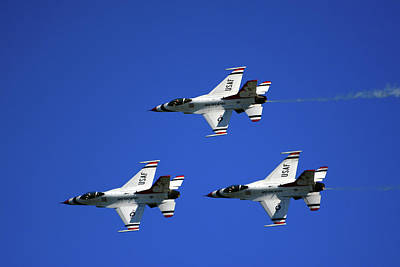 Photograph - Three Thunderbirds by Raymond Salani III