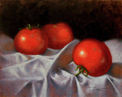 Three Tomatoes Original by Timothy Jones
