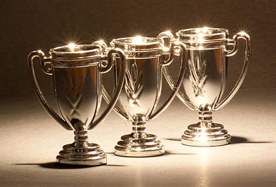 Photograph - Three Trophies by Scott Sanders