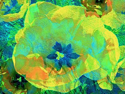 Mixed Media - Three Tulips 17 by Lynda Lehmann