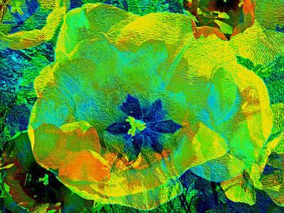 Mixed Media - Three Tulips 20 by Lynda Lehmann