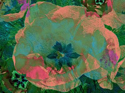 Mixed Media - Three Tulips 26 by Lynda Lehmann
