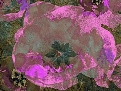 Mixed Media - Three Tulips 27 by Lynda Lehmann