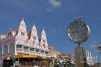 Photograph - Three Twenty In Oranjestad by David Birchall