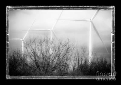Photograph - Three Wind Turbines by Imagery by Charly