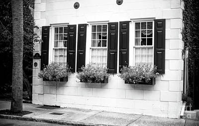 Photograph - Three Windows In Charleston by John Rizzuto