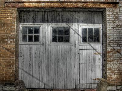 Old Door Photograph - Three Windows Make A Door by Jane Linders