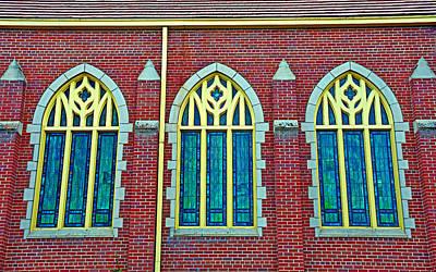 Lucille Ball - Three Windows by Robert Meyers-Lussier