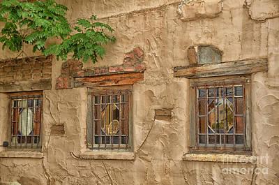 Three Windows Art Print