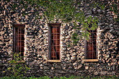 Photograph - Three Windows by Tamyra Ayles